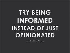24 de outubro de 2014 Try being informed instead of just opinionated P A T C H W O R K *d a s* I D E I A S
