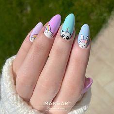 Beauty Nails, Hair Beauty, Nail Swag, Little Girl Hairstyles, Manicure, Nail Designs, Cartoon Clip, Nail Art, Painting