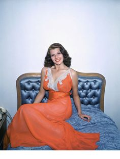 L'album photo des stars au lit Rita Hayworth