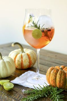 This refreshing and beautiful bright orange cocktail is perfect for Thanksgiving or truly any time of the year.