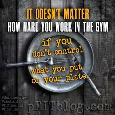 what you eat! #fitfluential