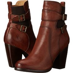 Frye Patty Gore Bootie Whiskey Buffalo Leather - Zappos.com Free Shipping BOTH Ways