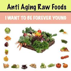 Anti Aging Raw Foods ~forever young~