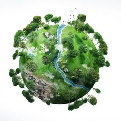 A Small Green Planet