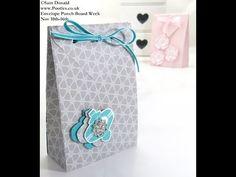 Stampin Up UK ENVELOPE PUNCH BOARD Folded Gift Bag - YouTube