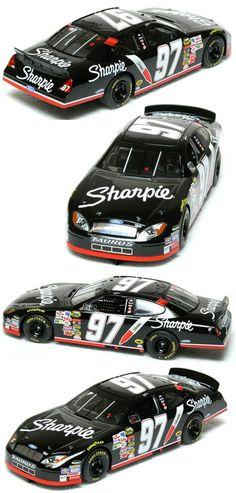 Scalextric C2595 Ford NASCAR Taurus Sharpie Kurt Busch 2005