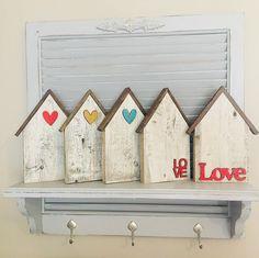 Scrap Wood Crafts, 2x4 Crafts, Diy Wooden Projects, Wood Block Crafts, Diy Home Crafts, Cute Crafts, Craft Stick Crafts, Wooden Diy, Wood Blocks
