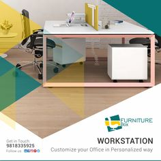 A workplace Redesign can be a Strong branding tool, giving people an immediate sense of your priorities and purpose. Talk to our interior expert today @ 9818335925 Furniture Box, Office Furniture, Furniture Design, Branding Tools, Luxury Office, Glass Partition, Workplace Design, Soft Seating, Priorities