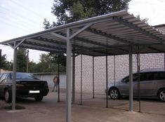 Building A Carport, Carport Garage, Shed Design, House Design, Open Shed, Mexican Restaurant Design, Car Shed, Steel Carports, Balcony Grill Design