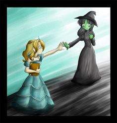 WICKED: For Good by ~Karin-Rodd on deviantART