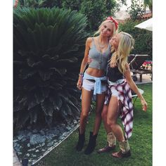 Celebrity outfits at stagecoach