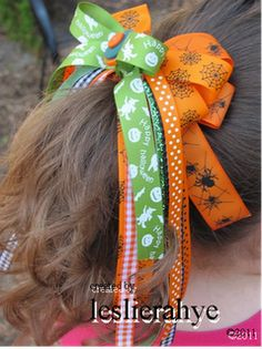 spooky hairbow gifts for ballet friends