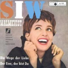 "Siw Malmkvist - ""Die Wege der Liebe"", german preselection for the Eurovision Song Contest 1962, place 2"