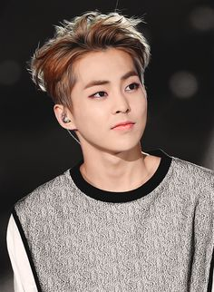 Xiumin!!! He looks so good!!!