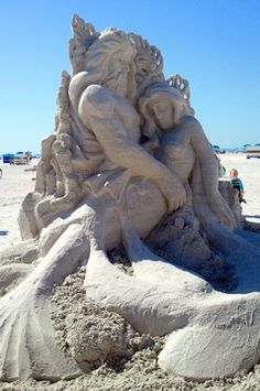 Sand Sculpture Ft. Myers Beach, Florida