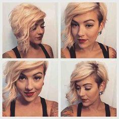 Medium Hair undercut hairstyles for women cool female to show off cool Undercut Girl Medium Hair undercut female hairstyles to show off.jpg