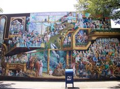 My husband is in this mural - State College PA