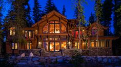 Lakefront house at Priest Lake, Idaho by Hendricks Architecture. Great views of the lake and surrounding mountains!