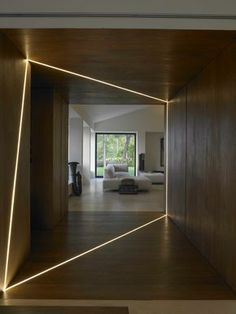 If this is someone's home, I'm not sure how long this stays 'fun' or 'diverting' or worth the effort to create it. Maybe I'm getting boring, but I tend to demand more from my lighting interventions. Having said that, when first seen, this looks terrific.