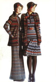 1972-73 - Missoni knit ensemble
