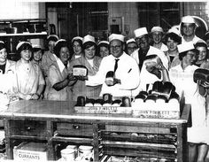 Pimbletts Bakery during a bread strike early 1970's