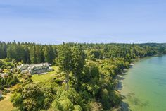 The home, which has 330 feet of water frontage, was listed in August with an asking price of $5.5 million. Scott Wasner of Realogics Sotheby's International Realty has the listing.