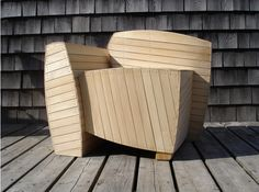 Rhode Island School of design Adirondack chair design competition