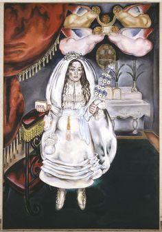 Blanchard, María (María Gutiérrez-Cueto Blanchard): La comulgante, 1914