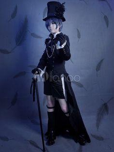 [$101.99] Kuroshitsuji Ciel Phantomhive Cosplay Costume