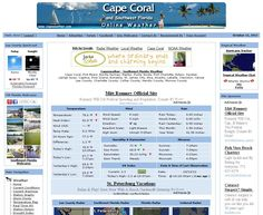 Capeweather.com - Southwest Florida Weather Coverage. Webcams, Radar, Satellite, Local Tides, Local Forecast, Real Time Conditions, Tropical Weather, Lightning Tracker, Local News, Fishing Reports
