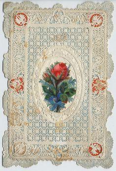 Valentine Rosebud circa 1870