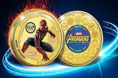 Avengers-Fans aufgepasst: Iron Spider als Fan-Ausgabe ab nur Iron Spider, Infinity War, Tricks, Mercedes Benz, Fans, Gold, Avengers Superheroes, Home Remedies, Short Hair Up