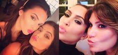 Pin for Later: Kendall Jenner fait tout comme sa soeur Kim Kardashian ! Quelle copieuse ! La photo duo de canards Source : Instagram user kendalljenner et Instagram user kimkardashian