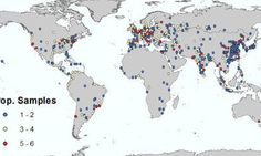 Watch Cities Spread Across The Planet Over 5,000 Years