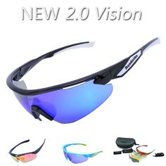 31925d977b1 2017 NEW ARRIVAL 5 Lens Full Color Men Polarized Cycling Glasses Outdoor  Sport Bike Sunglasses 2.0 Vision Goggles Racing Eyewear-in Cycling Eyewear  from ...