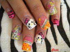 Multi-Colored Hot Nail Designs 2011 | NailsShine.com
