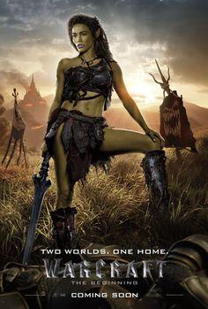 Warcraft Film - Warcraft: The Beginning Warcraft Film, World Of Warcraft, Warcraft 2016, Warcraft Characters, Warcraft Art, Robert Kazinsky, Duncan Jones, Orc Warrior, Fantasy Warrior