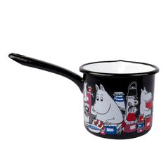 Moomin pot 1,3 l black - The Official Moomin Shop : http://shop.moomin.com/products/moomin-pot-1-3-l-black
