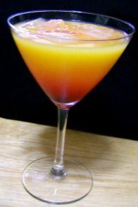 Malibu Sunrise- always a drink I order! Coconut Rum, Orange Juice, Grenadine...sometimes I splash in some pineapple juice if i have it!