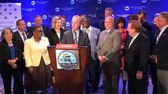 The bipartisan U.S. Conference of Mayors passed resolutions pushing back against Trump's policies on climate change.