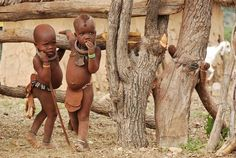 Himba Namibia.