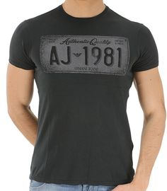 948417b044 7 Best Armani Jeans Grey 1981 T-Shirt - Regular Fit - £35 images in ...