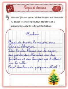 Copie et dessine de Noël (Sanleane)