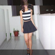Leia aqui!: http://imaginariodamulher.com.br/look/?go=2ntLDnR  10 Looks com saia com cintura alta e onde Encontrar #achadinhos #modafeminina #modafashion #tendencia #modaonline #moda #instamoda #lookfashion #blogdemoda #imaginariodamulher