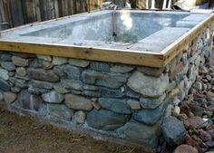 diy outdoor hot tub - Buscar con Google More