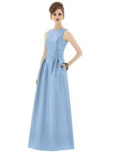 Alfred Sung Style D661 http://www.dessy.com/dresses/bridesmaid/d661/?color=newport%20blue&colorid=1322#.VcprfHhAPsM