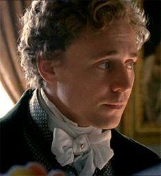 Tom Hiddleston as Mr. John Plumptre in Miss Austen Regrets.