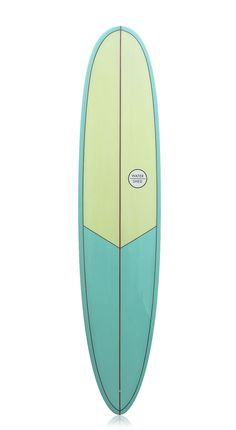 "Watershed 'She Captain' Longboard 8'6"" Yellow/Blue"