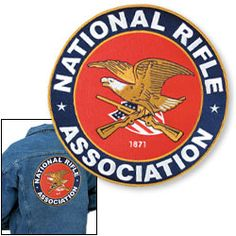 "NRA 11"" Jacket Patch - $15.95"