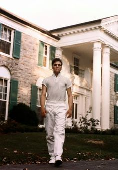 Sex, Southern style: Elvis at Graceland in the 1950s.